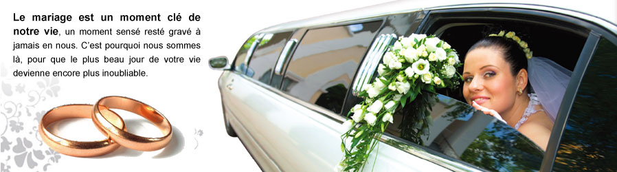 Lincoln Town car & Hummer Stretch H3 pour mariage